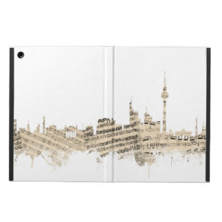 Berlin Germany Skyline Sheet Music Cityscape iPad Air Case