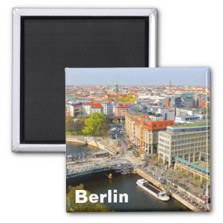 Berlin, Germany Square Magnet