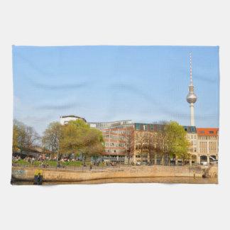 Berlin, Germany Tea Towel
