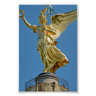 Berlin, Germany - Top of Victory Column Poster