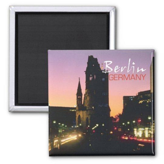 Berlin Germany Travel Souvenir Photo Fridge Magnet
