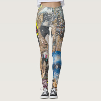 Berlin Graffiti Leggings