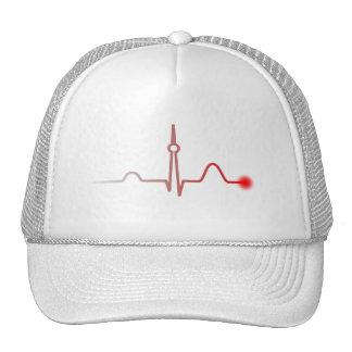 Berlin Heartbeat Mesh Hat