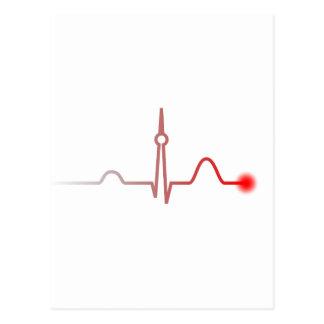 Berlin Heartbeat Postcard