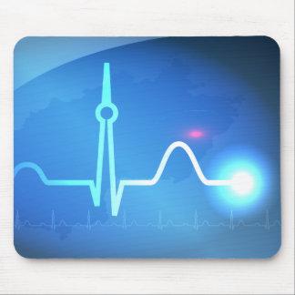 Berlin Heartbeat v2 Mouse Pad