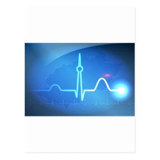 Berlin Heartbeat v2 Postcard