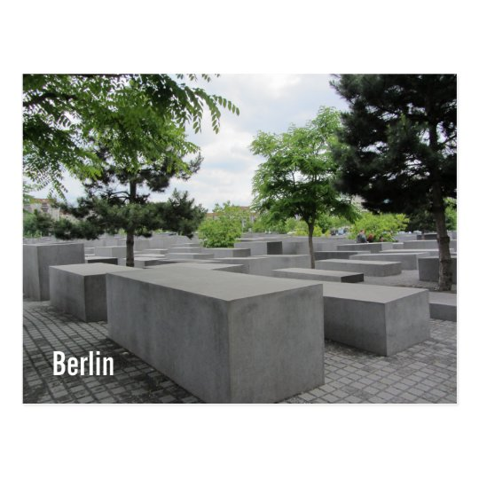 Berlin Holocaust Memorial Postcard