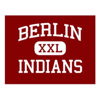 Berlin - Indians - High School - Berlin Wisconsin Postcard