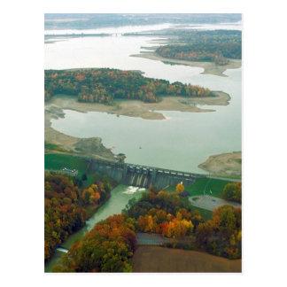 Berlin Lake and Dam 2 Postcard