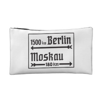 Berlin-Moscow, II World War, Russia Cosmetic Bags
