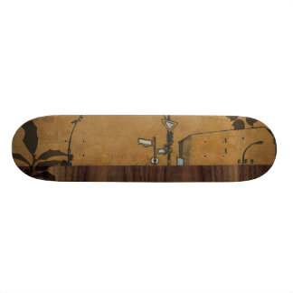 Berlin on wood 3 custom skate board