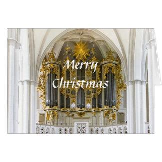 Berlin organ Christmas card