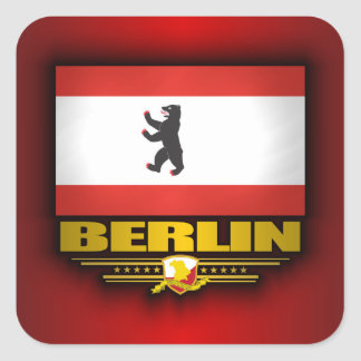 Berlin Pride Square Sticker