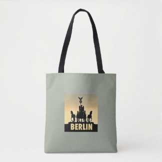 BERLIN Quadriga 002.1.2.2 Brandenburg Gate Tote Bag
