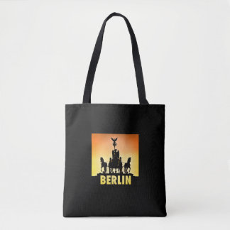 BERLIN Quadriga 002.1.3.3 Brandenburg Gate Tote Bag