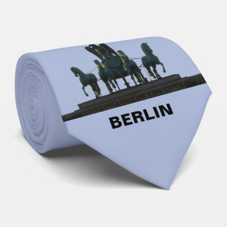 BERLIN Quadriga at Brandenburg Gate 2.3.T Tie