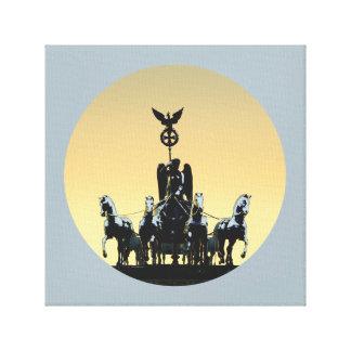 Berlin Quadriga Brandenburg Gate 002.1.2 rd Canvas Print