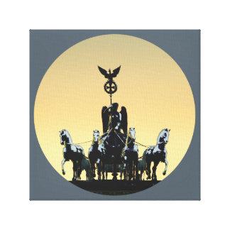 Berlin Quadriga Brandenburg Gate 002.1 rd Canvas Print