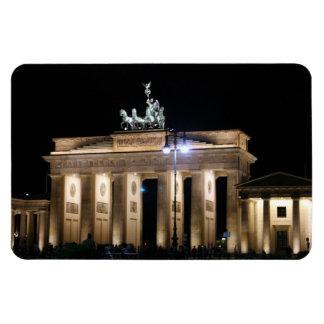 berlin rectangular photo magnet