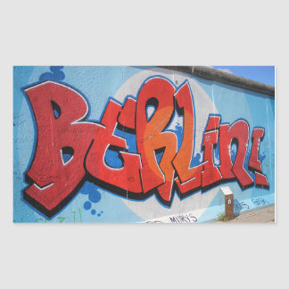 Berlin Rectangular Sticker