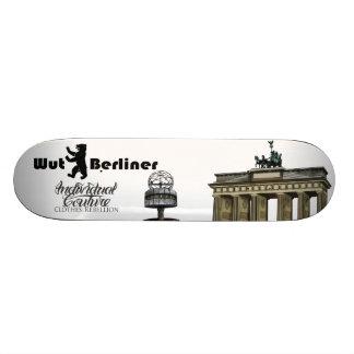 Berlin Skater 20 Cm Skateboard Deck