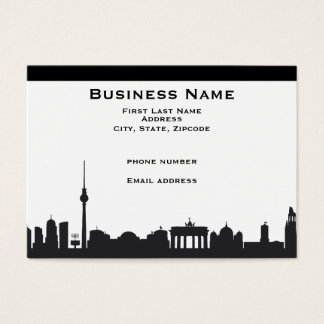 Berlin Skyline Business Cards