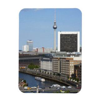 Berlin skyline, Germany Rectangle Magnet