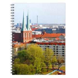 Berlin skyline (Germany) Notebooks