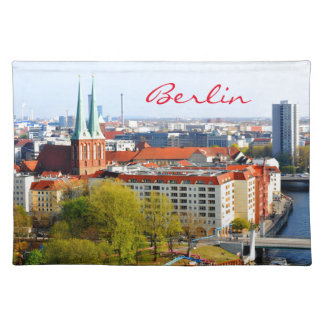 Berlin skyline (Germany) Placemat