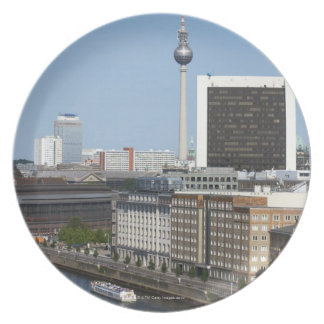 Berlin skyline, Germany Plate