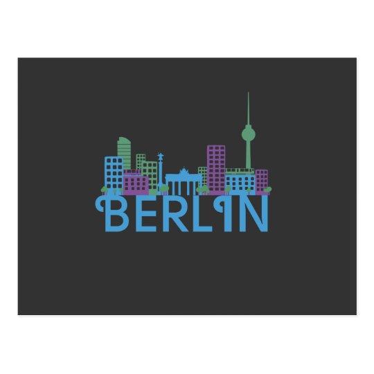 Berlin Skyline Post Cards