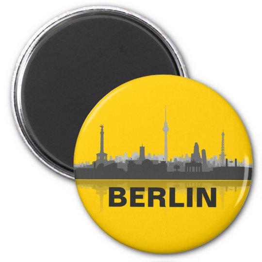 Berlin skyline refrigerator magnet