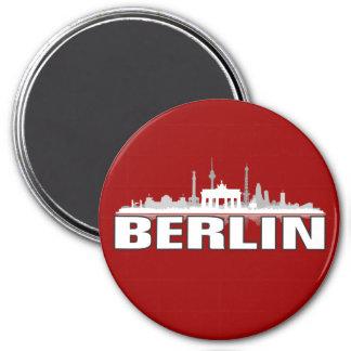 Berlin Stadt Skyline - Kühlschrankmagnet / Magnet