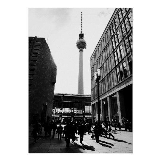 Berlin street photography poster