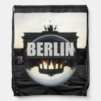 BERLIN, Sunset at the Brandenburg Gate Backpack