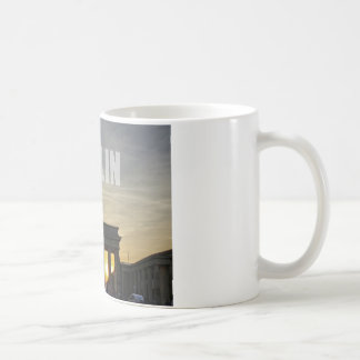 BERLIN, Sunset at the Brandenburg Gate Basic White Mug