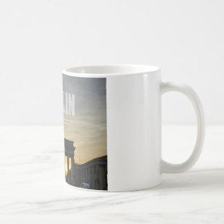 BERLIN, Sunset at the Brandenburg Gate Basic White Mug