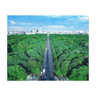 Berlin Tiergarten Canvas Photo Print
