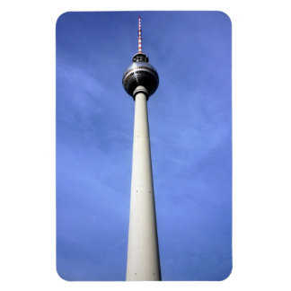 berlin tower rectangular photo magnet