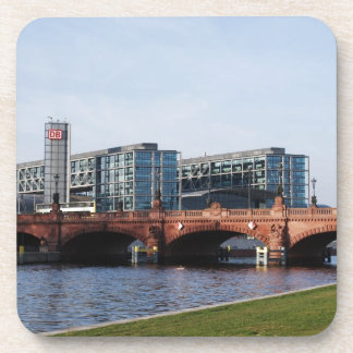 Berlin Train Station and Park - DB Beverage Coaster