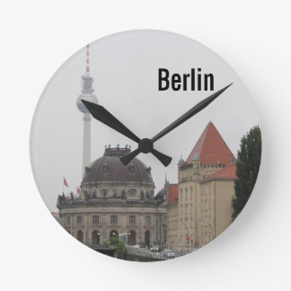 Berlin TV Tower Round Wallclock