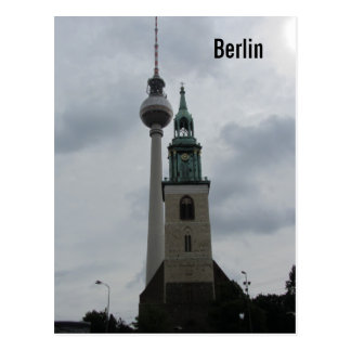 Berlin TV Tower Postcard