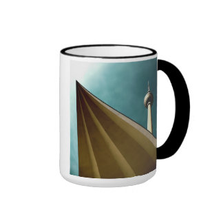 Berlin TV tower Ringer Mug
