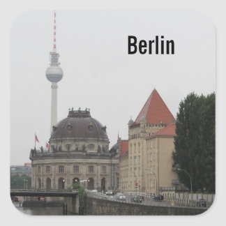 Berlin TV Tower Square Sticker