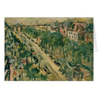 Berlin, Unter den Linden, 1922 Card