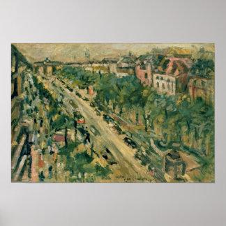 Berlin, Unter den Linden, 1922 Poster
