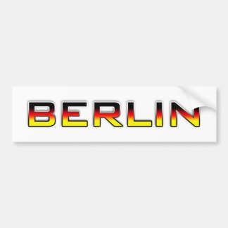Berlin V01B Bumper Sticker