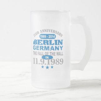 Berlin Wall Germany 25 Year Anniversary Beer Mugs