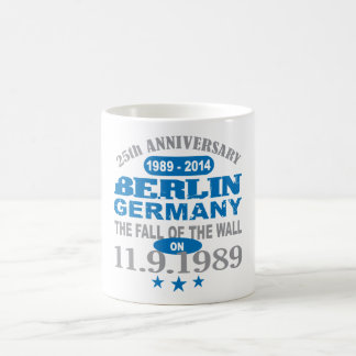 Berlin Wall Germany 25 Year Anniversary Coffee Mug