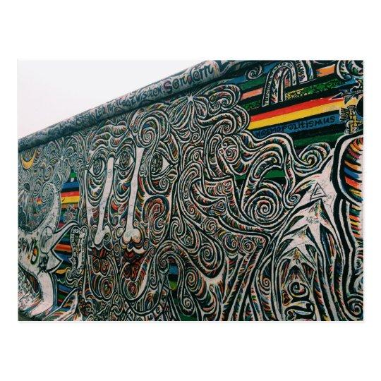 Berlin: Walls and Faces Postcard